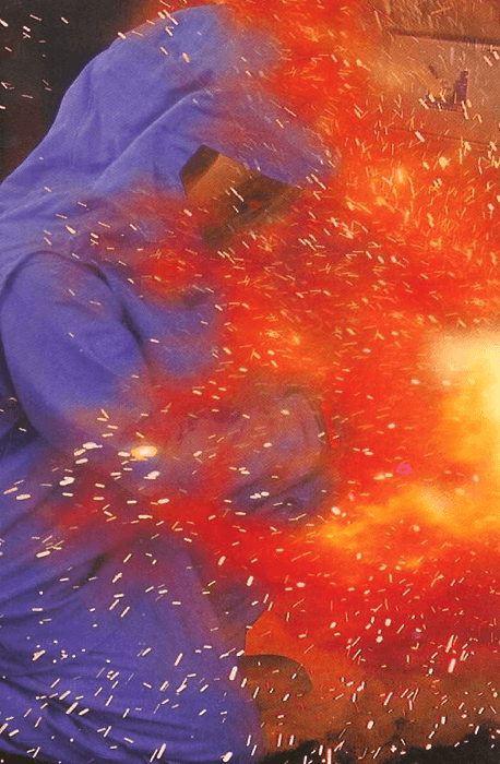 Arc flash vs the HRC4 - 40cal suit