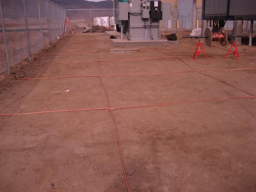 Substation ground grid - substation design calculations